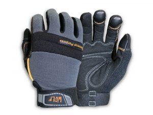WOLF Mechanic All-purpose Stretchable Flex Grip Work Glove