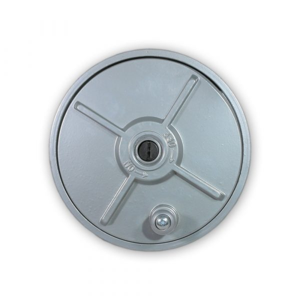 WOLF 6.25'' Aluminum Tie Wire Reel Coil Holder, Lightweight, Ambidextrous, Built-in Belt Loops & Knob Quick One Safety