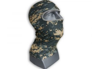 WOLF Sun Protection Breathable Balaclava Full-Face Mask Hood Neck Gaiter Quick One Safety